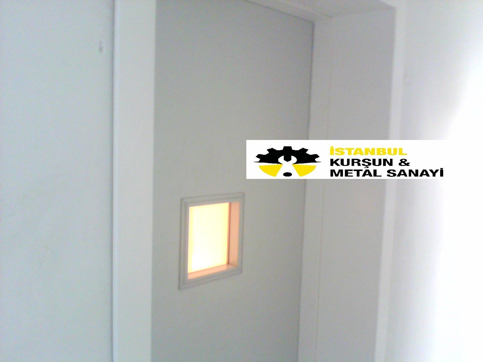 radyoloji odasi kursun kapi